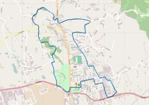 Mappa Sentiero 5